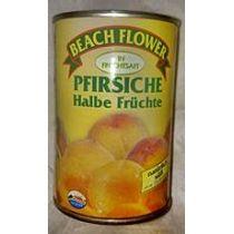 Beach Flower Pfirsiche halbe Früchte 240g