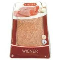 Berger Wiener geschnitten 150g