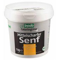 Byodo Senf mittelscharf 1 kg