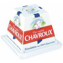 Chavroux Frischkäse natur 45% Fett i. Tr. 100% Ziegenmilch 150 g