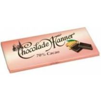 Chocolade Manner 70 % Cacao 150g