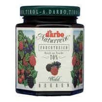 Darbo Naturrein Fruchtaufstrich Waldbeeren 70% Früchte 200g