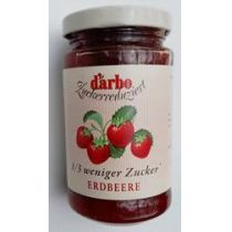 Darbo zuckerreduzierter Fruchtaufstrich Erdbeere 250g