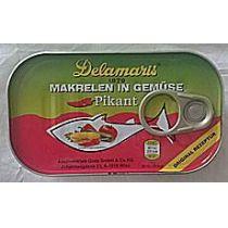 Delamaris Makrelen in Gemüse, pikant 125g