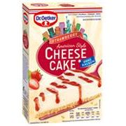 Dr. Oetker Cheesecake American Style Strawberry 320g