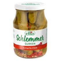 efko Schlemmergurken Scharfe Chili 190g