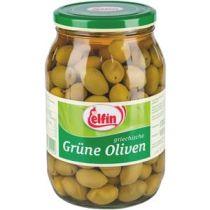 Elfin Oliven mit Kern grün 1000g