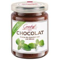 Grashoff Dunkle Chocolat mit Minze 250g