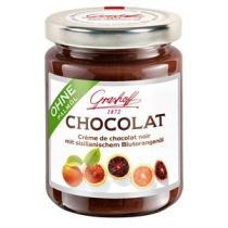 Grashoff Dunkle Chocolat mit sizilianischem Blutorangenöl 250g