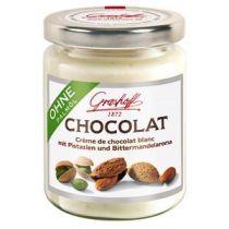 Grashoff Weiße Chocolat mit Pistazien & Bittermandelaroma 235g