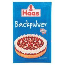 Haas Backpulver  3 x 16g