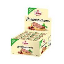 Haas Haselnusscreme Portion ohne Palmöl 112 x 15 g