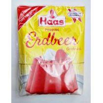 Haas Pudding Erdbeer - Geschmack 111g
