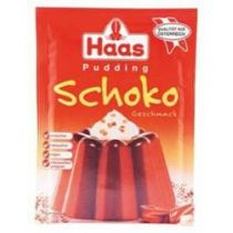 Haas Pudding Schoko Geschmack 3 Btl. a 44g