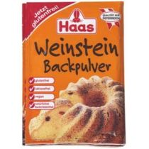 Haas Weinstein - Backpulver für lockere Backwaren 3 x 16g