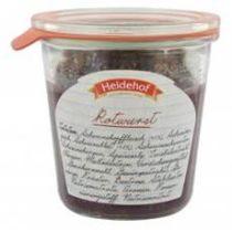 Heidehof Rotwurst im Weckglas 200 g