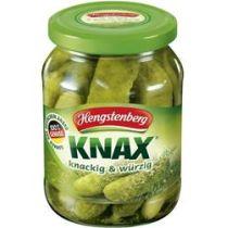 Hengstenberg Knax Gewürzgurken knackig & würzig 185g