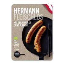 Hermann Fleischlos Käsebratwurst ohne Fleisch 160 g