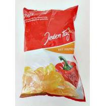 Jeden Tag Chips mit Paprika 250g