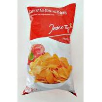 Jeden Tag geriffelte Chips mit Paprika 200g