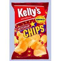 Kelly´s Chips Ketchup 150 g