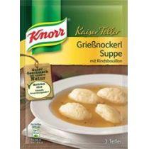 Knorr Kaiser Teller Grießnockerl Suppe 56g