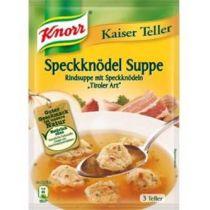 Knorr Kaiser Teller Speckknödel Suppe 63g