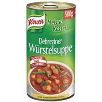 KNORR Meisterkessel Debreziner Würstelsuppe 500g
