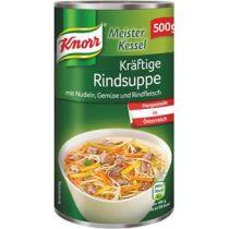 Knorr Meisterkessel kräftige Rindsuppe 500g