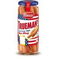 MEICA Trueman´s American Style Hot Dog 6 Stück 300g