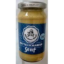 Münchner Kindl Mittelscharfer Senf 200 ml