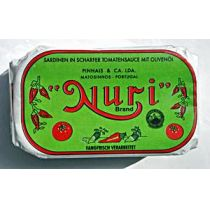 Nuri Brand Sardinen in scharfer Tomatensauce 125g