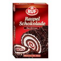 Ruf Raspel Schokolade Zartbitter 100g