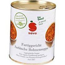 SAVA - Serbische Bohnensuppe vegetarisch - 850ml