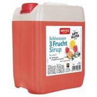 Spitz Schiwasser - Drei-Frucht-Sirup 5 ltr.