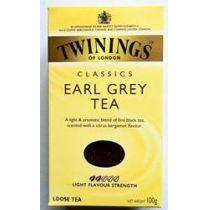 Twinings of London Earl Grey Tea  100g Schwarzer Tee