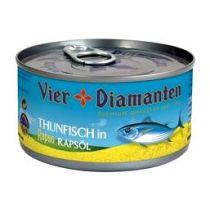 Vier Diamanten Thunfisch in Rapsöl 150 g