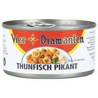 Vier Diamanten Thunfisch pikant 185g