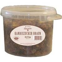 Wiener Zucker Kandiszucker, braun 2,5 kg