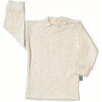 Frottee-Shirt mit langem Arm, Größen 62/68 bis 134/140