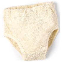 Frottee-Slip aus Bio-Baumwolle. Größen: 86/92 bis 134/140