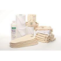 Schnupperpaket Stoffwindeln für Neugeborene (3-7 kg)
