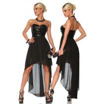 Abendkleid mit Pailletten,schwarz Größe S/M