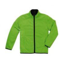 Active Teddy Fleece Jacket Men Kiwi Green XL