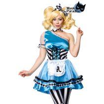 Alice blau/schwarz/weiß Größe L-XL