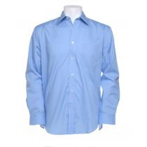 """Business Shirt LS Light Blue 14½"""" 37cm"""