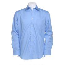 """Business Shirt LS Light Blue 16½"""" 42cm"""