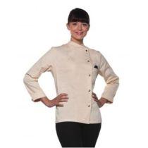 Ladies Chef Jacket Larissa Cream 42