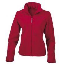 Ladies` Fleece Jacket Red S