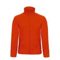 Micro Fleece Full Zip Pumpkin Orange 3XL